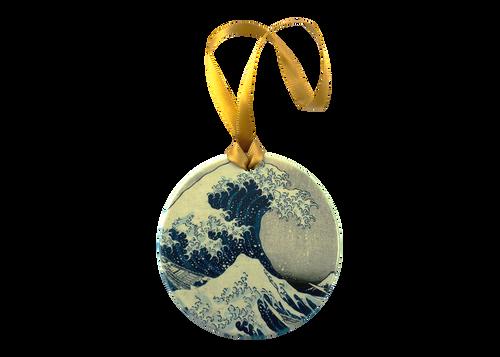 Hokusai, The Great Wave Ornament