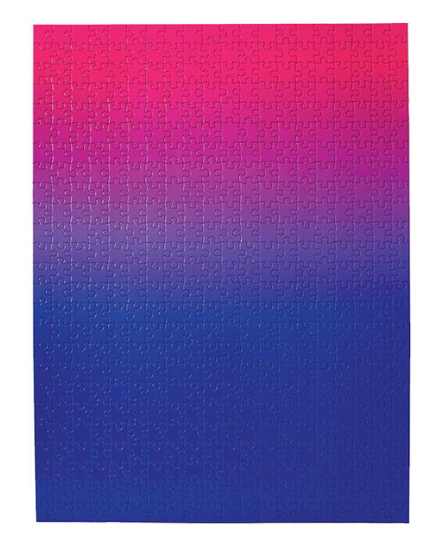 Gradient Blue/Pink Puzzle - 500 Pieces