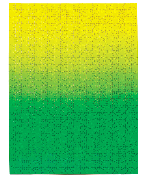Gradient Green/Yellow Puzzle - 500 Pieces