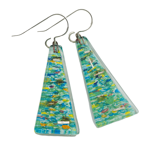 Seine Large Triangle Earring