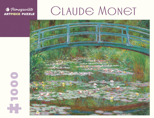 Monet, The Japanese Footbridge Puzzle - 1000 Pieces