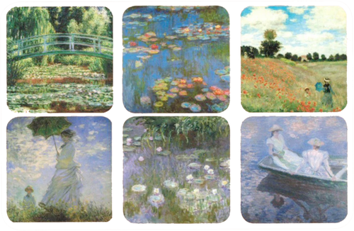 Monet Coasters - Edition 1