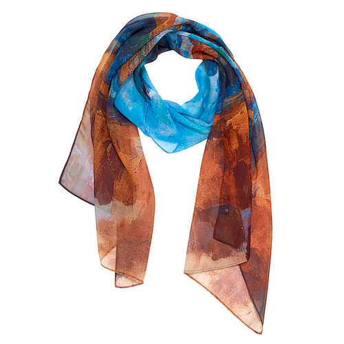 Cezanne Riverbanks Oblong Chiffon Scarf