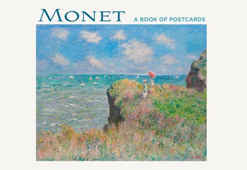 Monet Post Card Book
