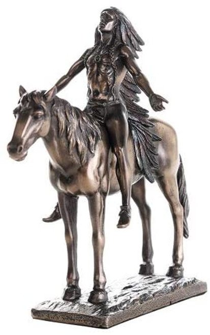 "Appeal to the Great Spirit 8"" Statue"