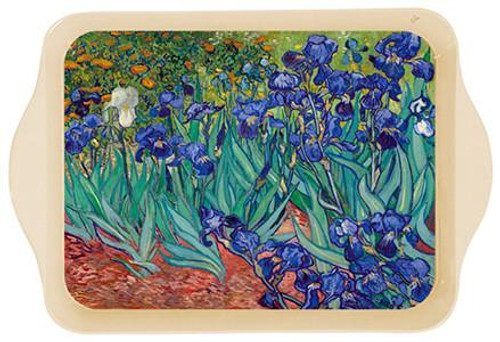 Van Gogh Irises Mini Metal Tray