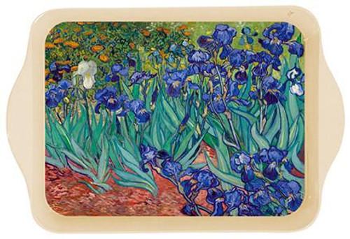 Van Gogh Irises Mini Metal Tray