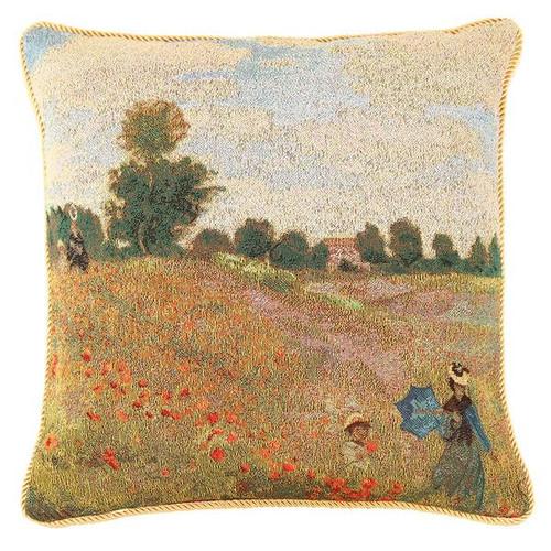Monet Poppy Fields Pillowcase
