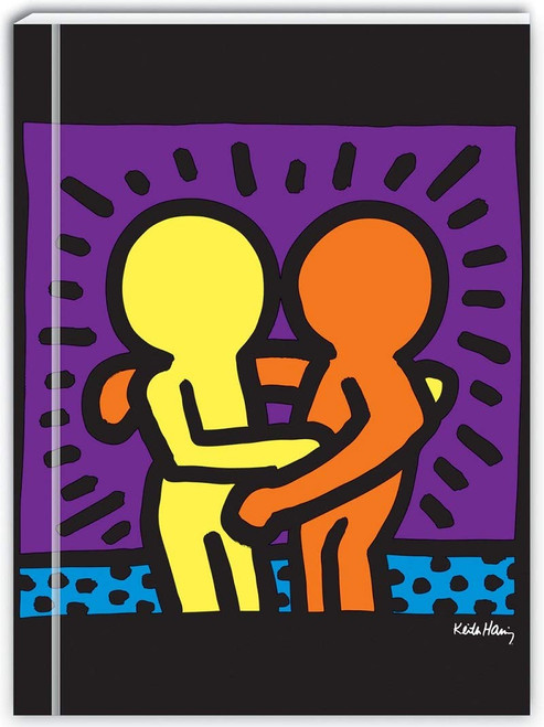 Keith Haring Green Journal