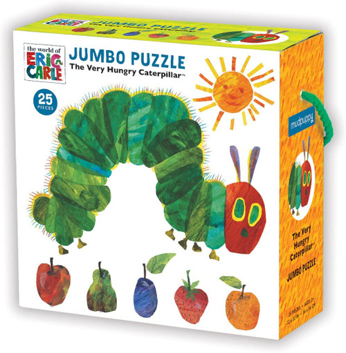 Eric Carle The Very Hungry Caterpillar Jumbo Puzzle - 25 Pieces