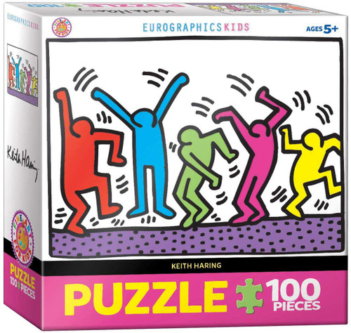Keith Haring Dancing Puzzle - 100 Pieces