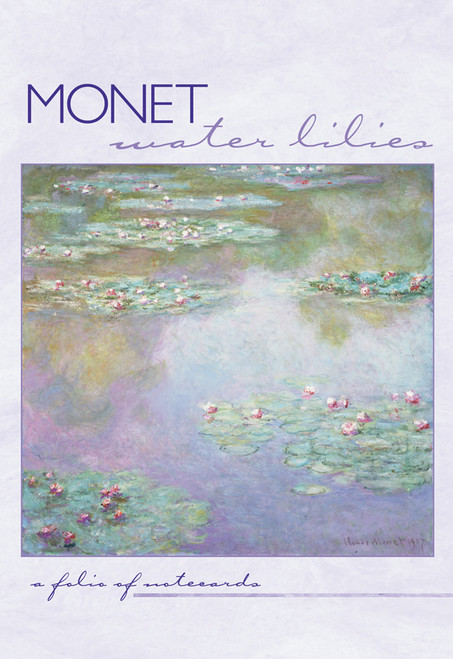 MFA Monet Waterlilies Notecard Box