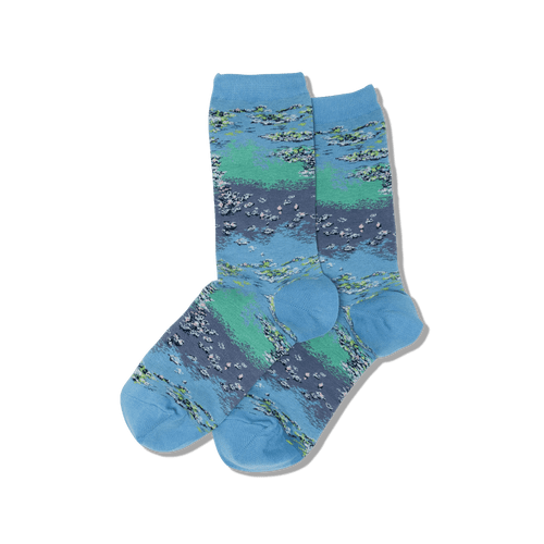 Monet Waterlilies Women's Socks