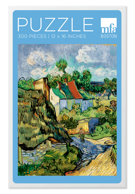 Van Gogh, Houses at Auvers Puzzle - 300 Pieces