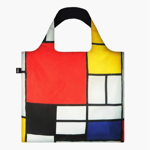 Mondrian Packable Tote Bag