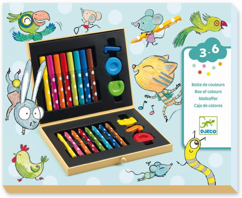 Box of Crayons for Toddlers