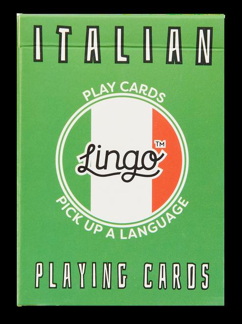 Italian Lingo Playing Cards