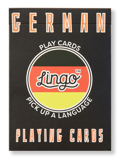 German Lingo Playing Cards