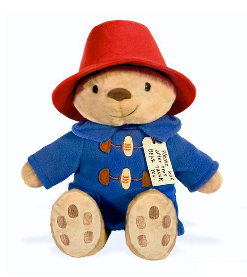 "Classic Seated Paddington Bear 8.5"" Soft Toy"