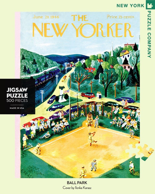 Ballpark Jigsaw Puzzle - 500 Pieces