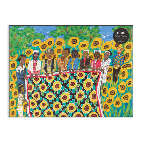 The Sunflower Quilting Bee Puzzle - 1000 Pieces