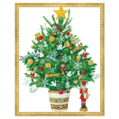 Decorated Tree Holiday Cards