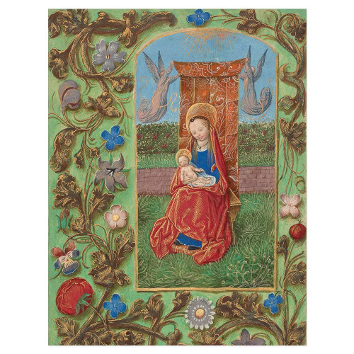 The Virgin and Child Enthroned HolidayCards