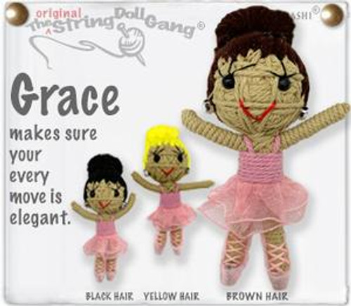 Grace Ballerina String Doll Key
