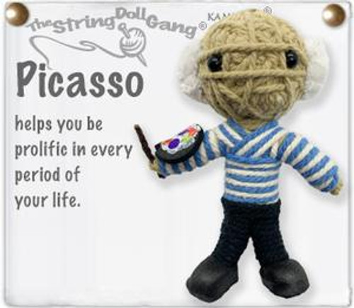 Picasso String Doll Key