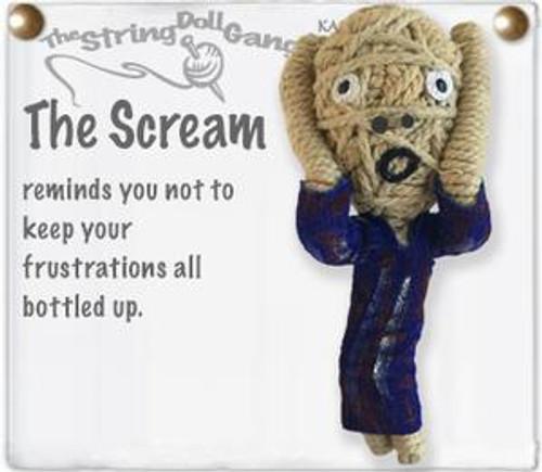 Scream String Doll Key