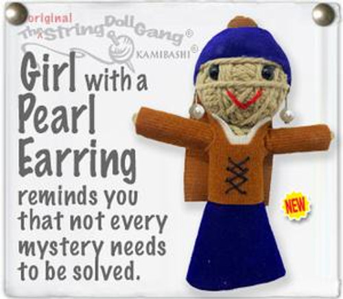 Girl With Pearl Earring String Doll Key