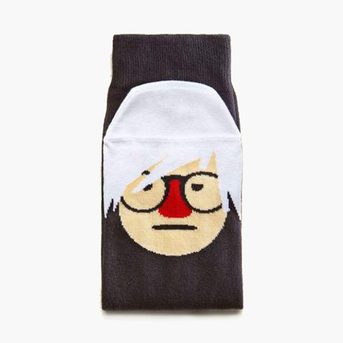 """Andy Sock-Hole"" Socks"