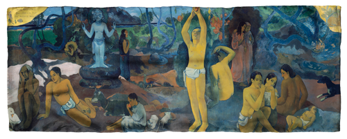 Gauguin, Where Do We Come From? What Are We? Where Are We Going? Scarf