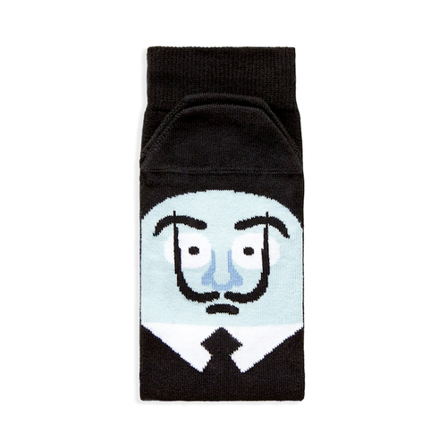 """Sole-Adore Dali"" Socks"