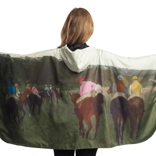Degas Racehorses at Longchamp Raincaper