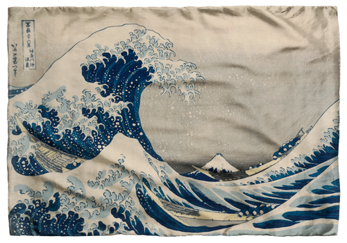 Hokusai, The Great Wave Scarf