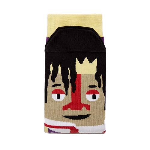 """Basquiatoe"" Socks"