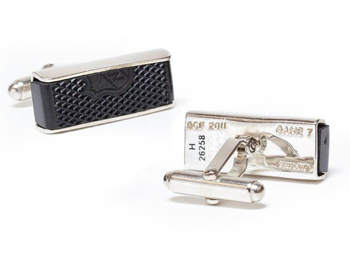 Boston Bruins Game-used Puck Cuff Links