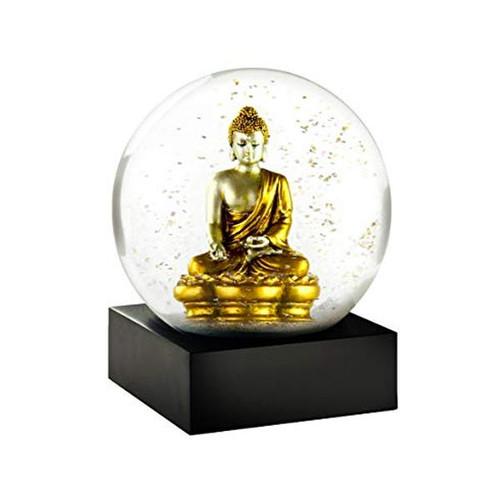 Golden Buddha Snow Globe