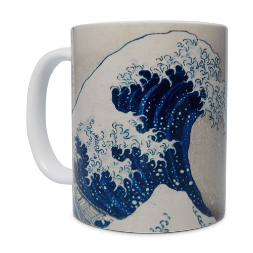 Hokusai, Great Wave Mug