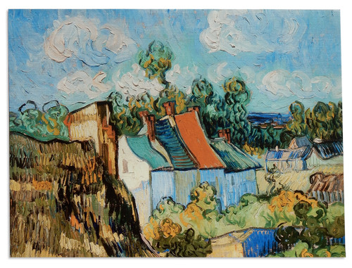 Van Gogh, House at Auvers Placemat
