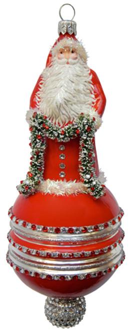 Wharton Claus Ornament