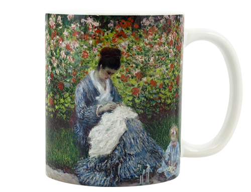 Monet Camille Monet and Child Mug