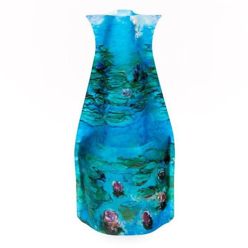 Monet Waterlilies Blue Vase