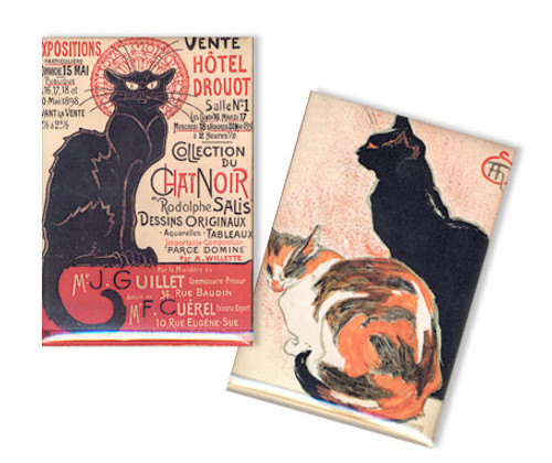 Steinlen Cat Magnet Set