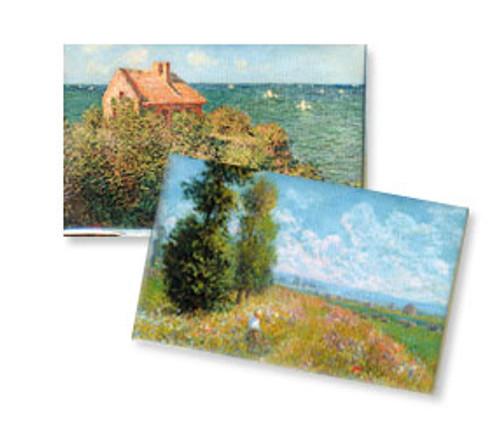 Monet Landscape Magnet Set/2