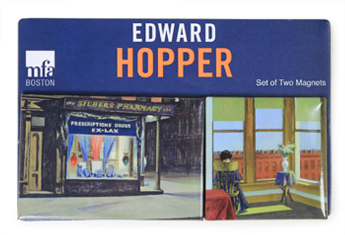 Edward Hopper Magnets  Set of 2