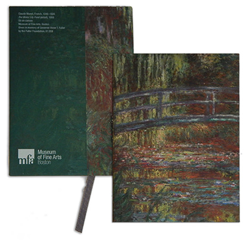Monet, Water Lily Pond Journal