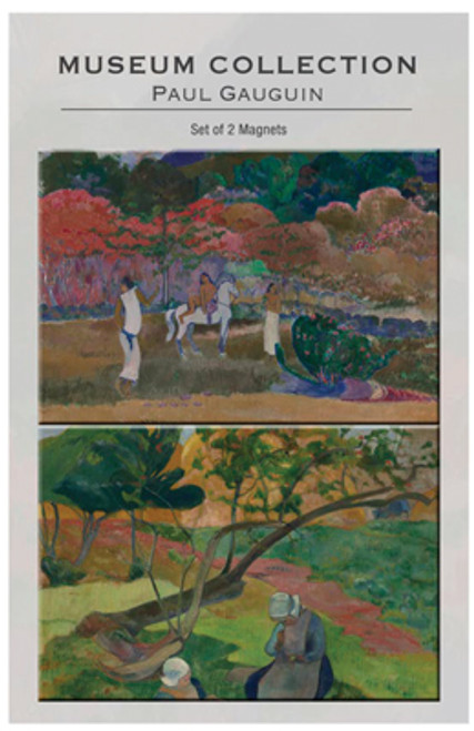 Gauguin set of 2 Magnets