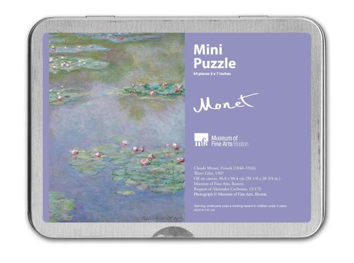 Monet, Water Lilies Puzzle - 54 Pieces